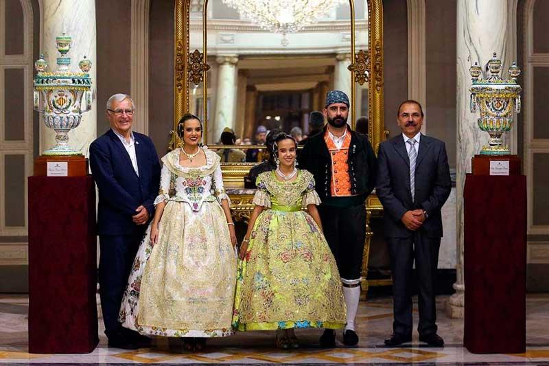 Marina y Sara recibieron los Alfabeguers (JCF / Armando Romero)