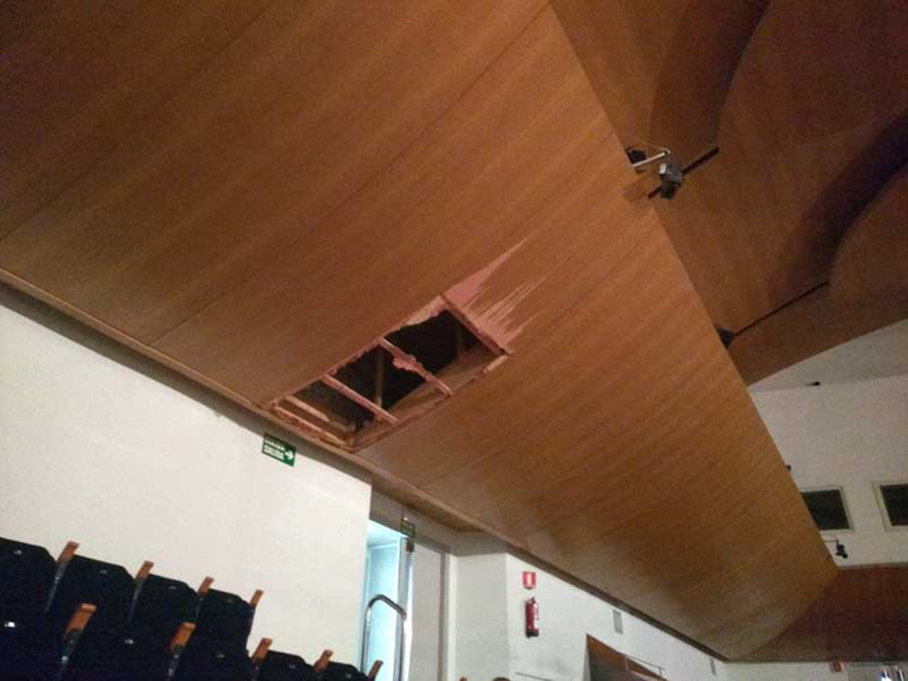 Conxa acústica Sala Iturbi Palau de la Música
