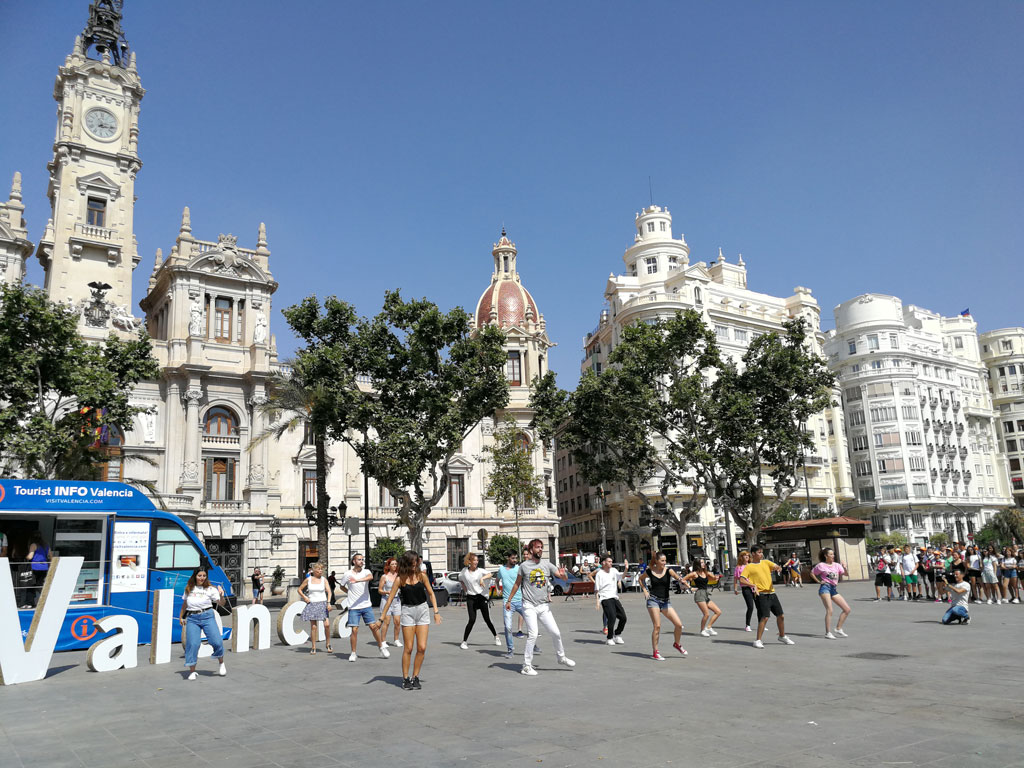 Flashmob d'informació turística