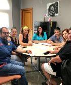 Reunió entre l'Ajuntament de Picassent i representants del sector comercial