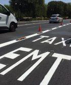 Segregacio carril EMT-Taxi