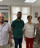 Pere Fuset va rebre presidenta Casa de Andalusia