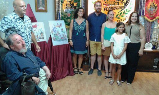 Foto de família Falla Ferroviària (foto: Estaban Gonzalo)