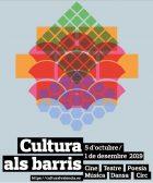 Cultura als barris 2019
