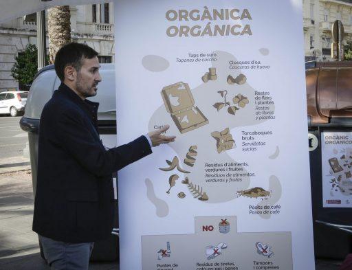 contenidor matèria orgànica