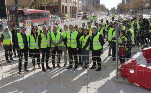 Visita obres L10 - Metrovalencia