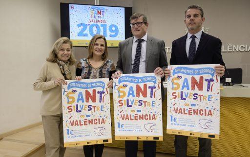 Presenació Sant Silvestre Popular Valenciana