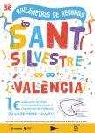 Cartel Sant Silvestre Popular Valenciana