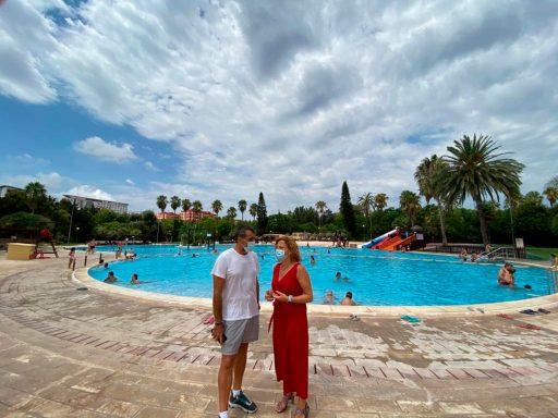 Pilar Bernabé - piscina municipal