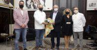 Joan Ribó mocadorà dels Forners, Pastissers i sucres pel 9 d'Octubre