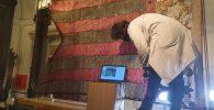 80 mostres de la Reia Senyera per a fer la nova rèplica / 80 muestras de la Real Senyera para haccer la réplica