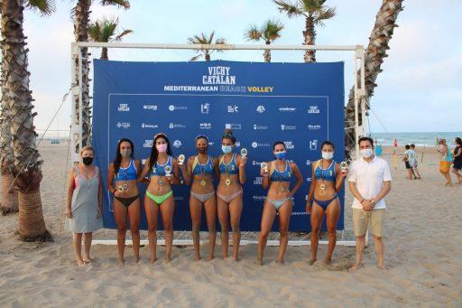 Circuito 'Vichy Catalan' Mediterranean Beach Volley / Seguí – Garrido y Natali – Mahia , Circuit 'Vichy Catalan' Mediterranean Beach Volley / Seguí – Garrido i Natali – Mahia