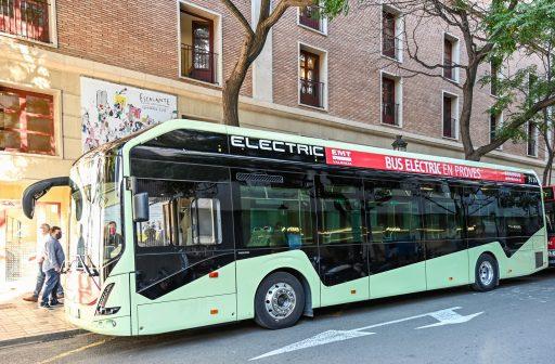 autobús elèctric EMT